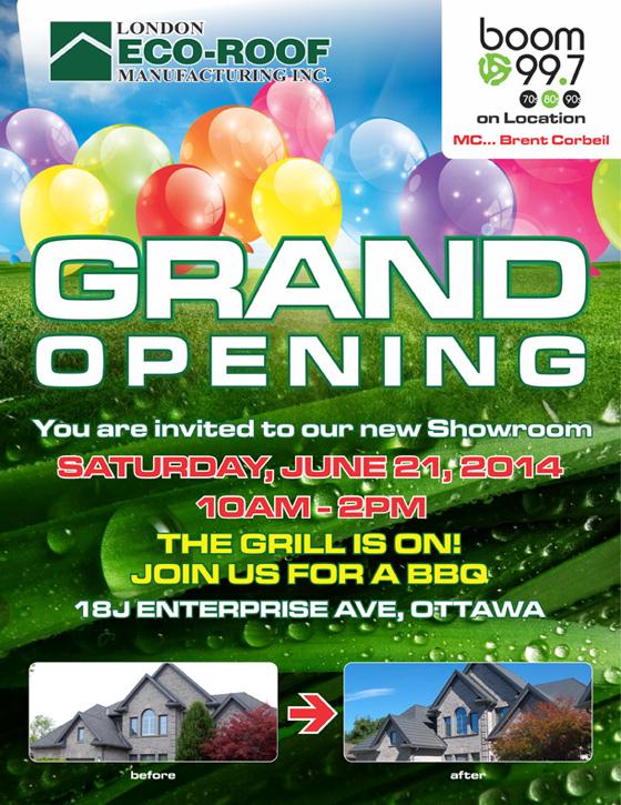 Ottawa Grand Opening Poster